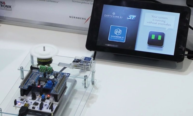 A demonstration of how NanoEdge AI and STM32Cube.AI can work hand in hand