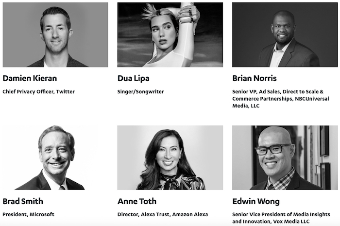 Sample of some of the featured speakers at CES 2021