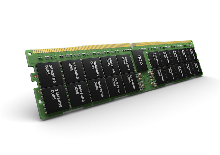 Samsung's new DDR5 module for bandwidth-intensive computing in AI and ML applications.