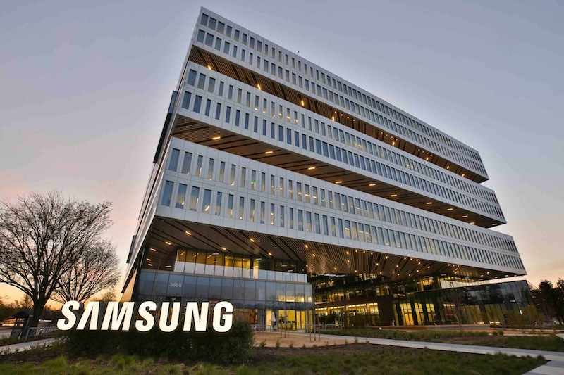 Samsung's headquarters in San Jose, California.
