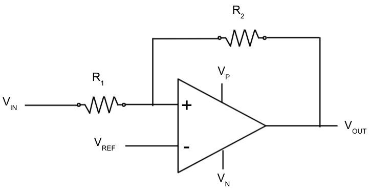 Schmitt Trigger Comparator with Hysteresis