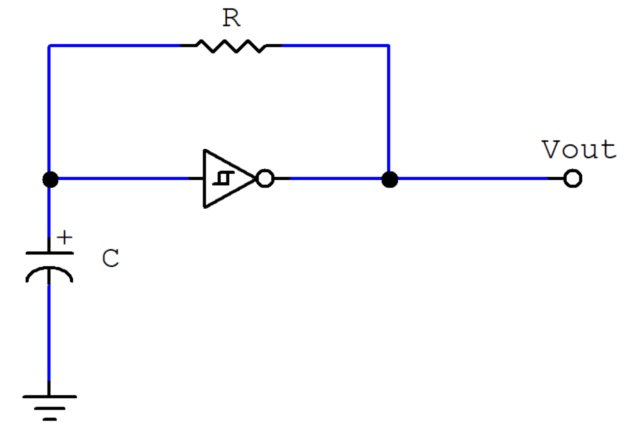 555 schmitt trigger inverting circuit simulator