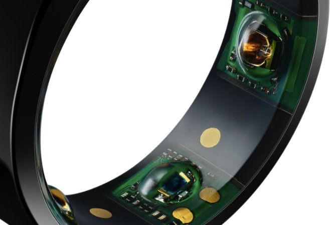 Sensors in the Oura Ring