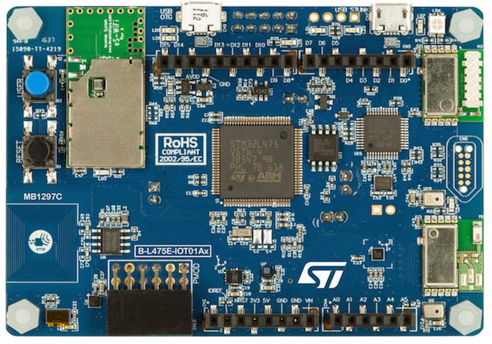 New STM32 Kit Integrates Cloud Connectivity and Sensors for