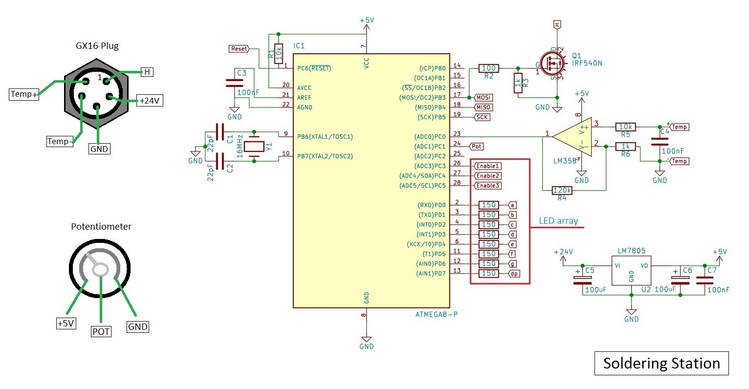 SolderingStationSchematic Hakko Schematic on