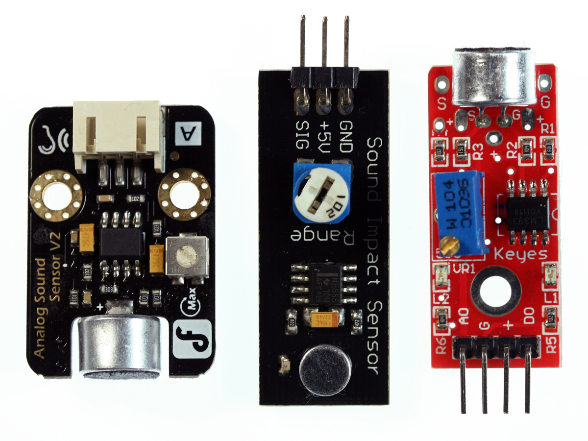 Flash Freeze Photography With An Arduino Sound Detector Using Lm324 A Particularly Convenient And Relatively Inexpensive Option Is Sensor Module Built Specifically For Interfacing To