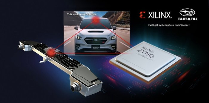 Suburu tapped Xilinx for its Zynq UltraScale+ MPSoC to play a pivotal role in its new ADAS