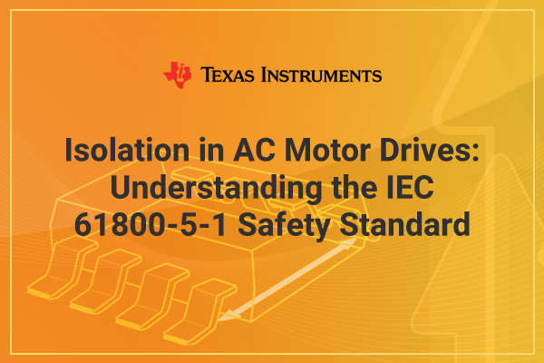 Texas Instruments graphic understanding IEC safety standard