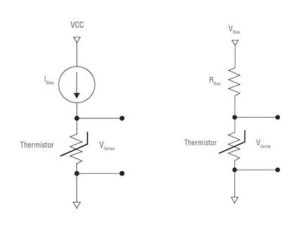 Voltage-divider and constant-current circuit implementations