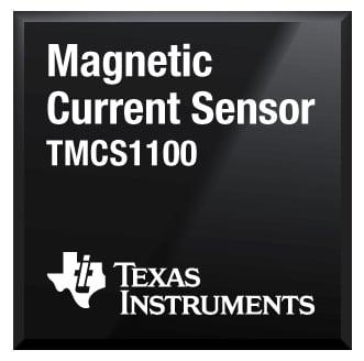 TMCS1100 magnetic current sensor chip