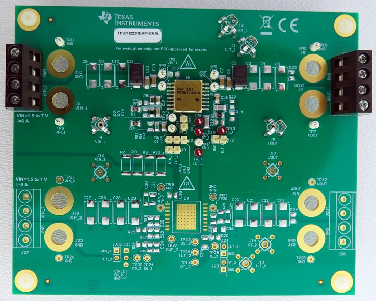TPS7H2201-SP single evaluation module