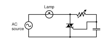 TRIAC phase-control of power