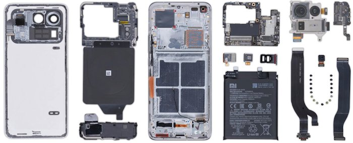 Teardown of the Mi 11 Ultra