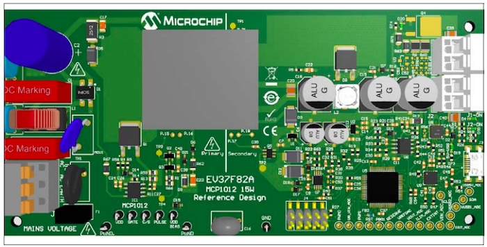 The MCP1012 reference design