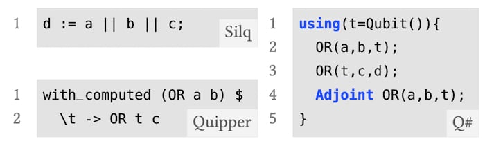 The benefit's of Silq's automatic uncomputation feature
