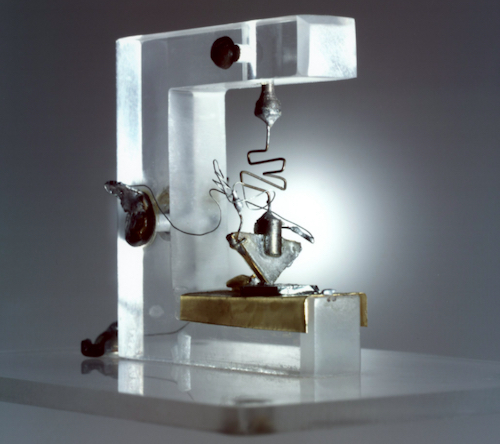 The first assembled transistor