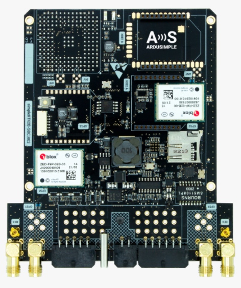 The new simpleRTK2B-SBC from ArduSimple
