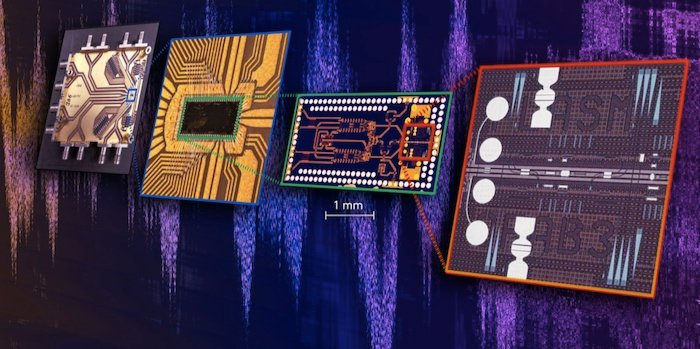 The world's first chip to combine electronic and photonic technology