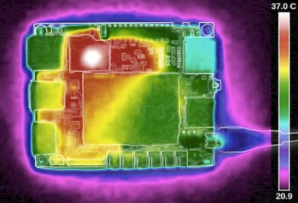 Thermal profiling of a PCB