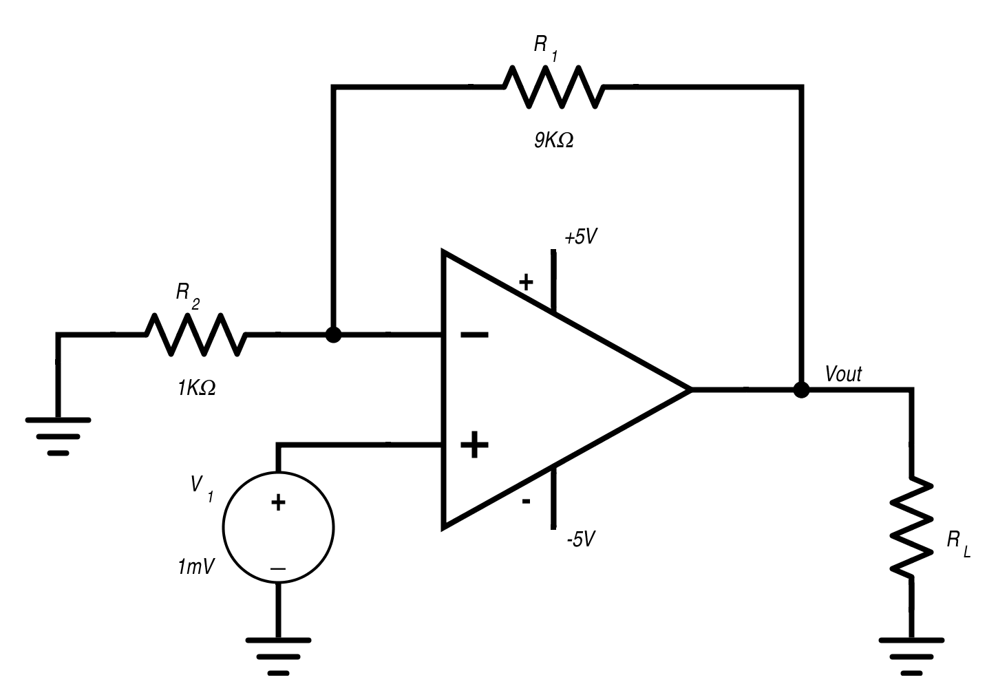 Basic Op Amp Circuits Circuit Thevenin And Norton Equivalent
