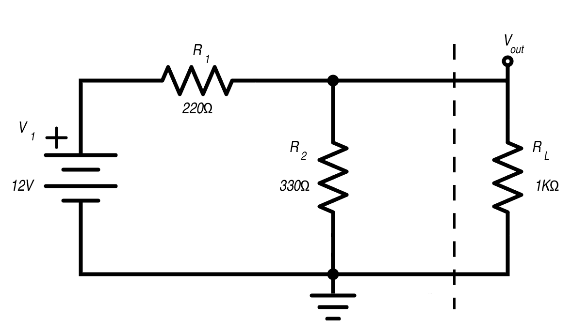 Learning To Simplify Thevenin And Norton Equivalent Circuits Electronic Potentiometer Circuit Composed Of Digital