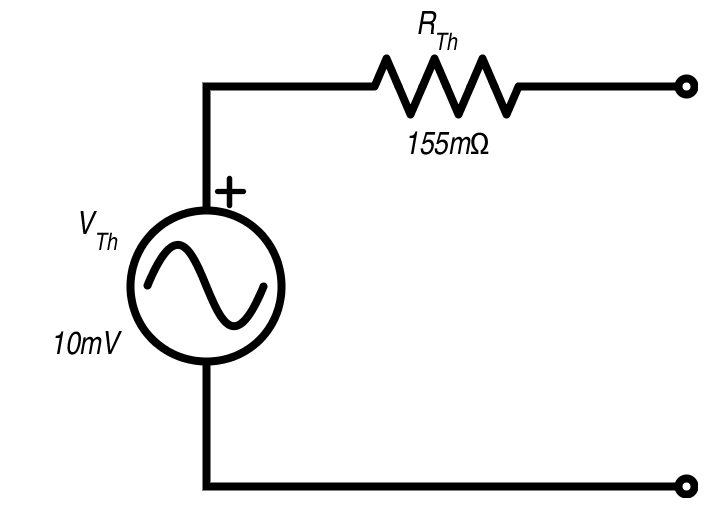 Thevenin Equivalent for an Op-Amp Circuit