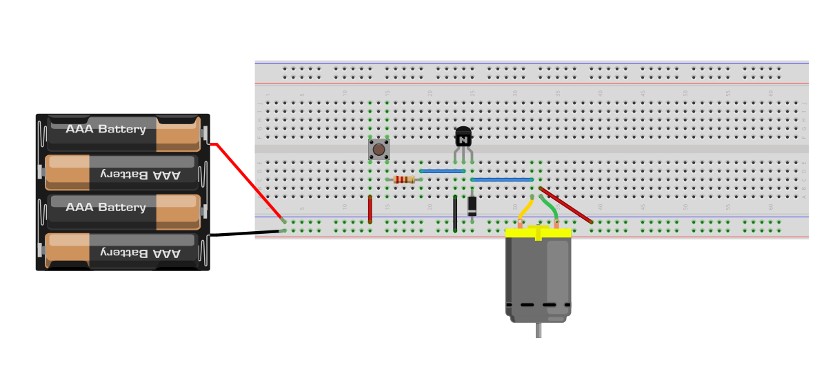 build an object detection dc motor controller now let s see how the dc motor driver circuit works by reviewing basic transistor theory