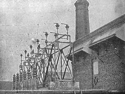Transmission lines during Clarke's time
