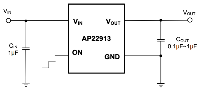 Typical Applications Circuit of AP22913
