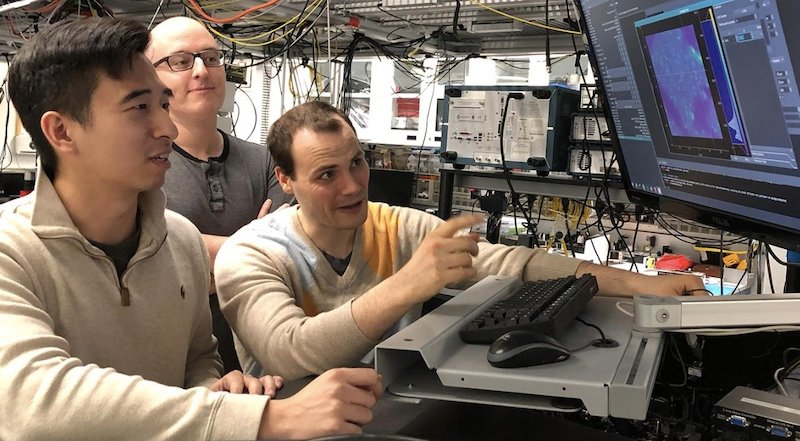 University of Chicago graduate students observe quantum experiments
