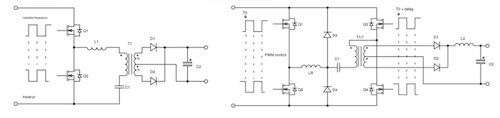 LLC and PSFB converters
