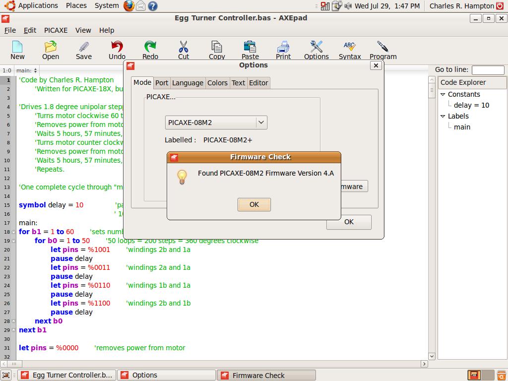 PICAXE Programming Basics - Part 1
