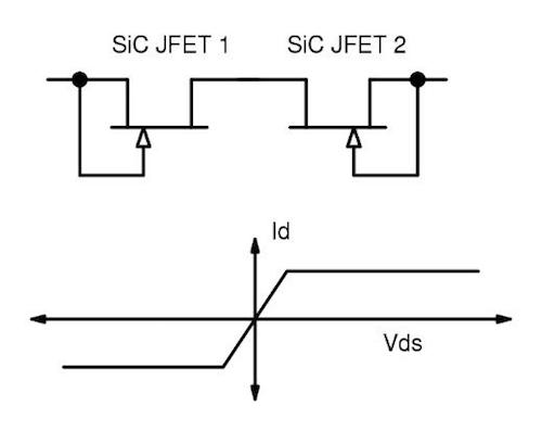 Figure 4. A simple bi-directional current limiter