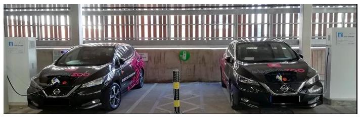 V2G charging site