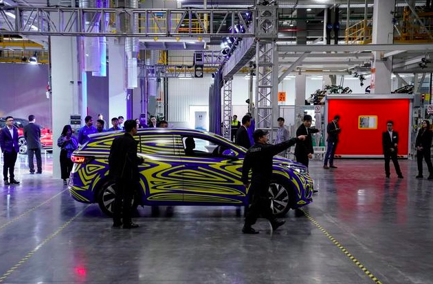 VW electric vehicle construction