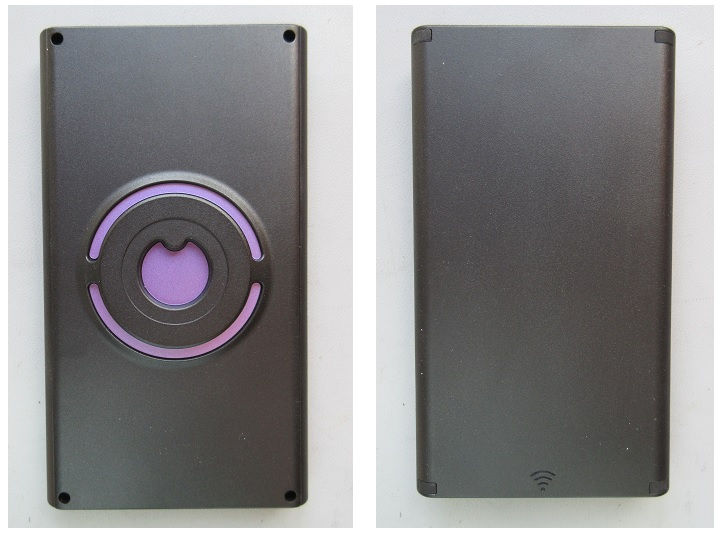 The front and back sides of the Walabot DIY In-Wall Imager