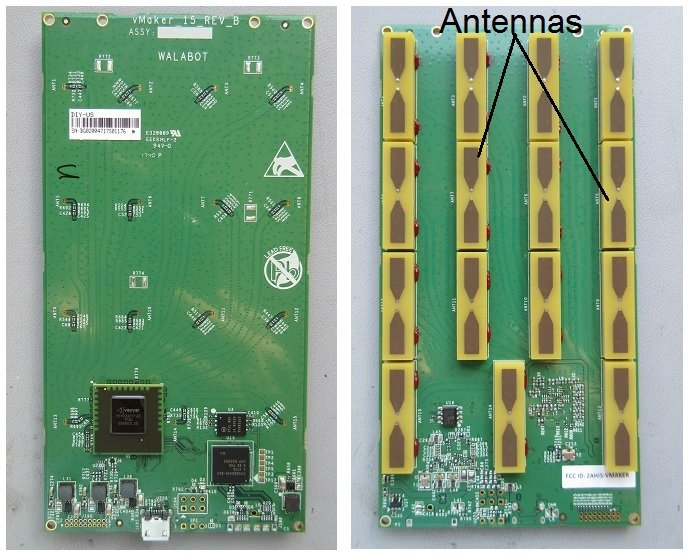 The two sides of the sole PCB. At first glance, its design appears to be only moderately complex