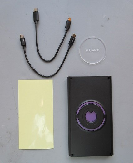 The Walabot DIY In-Wall Imager and its accessories