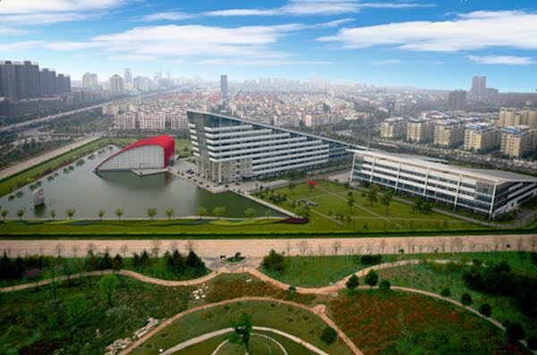 Wuhan's economic and technological development zone.