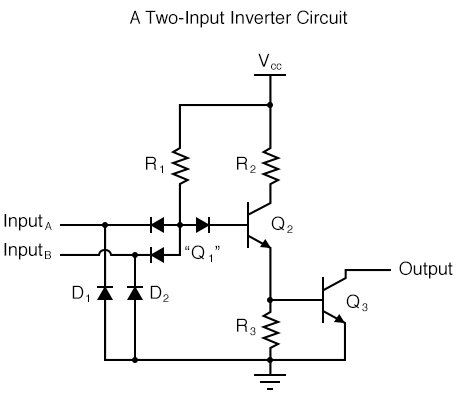 A Two-Input Inverter Circuit