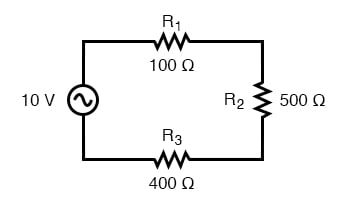 AC circuit calculations for resistive circuits are the same as for DC.