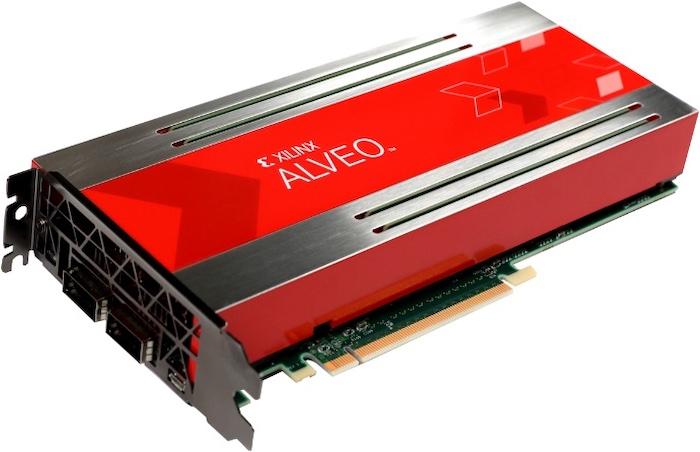 Xilinx's Alveo AI Accelerator.