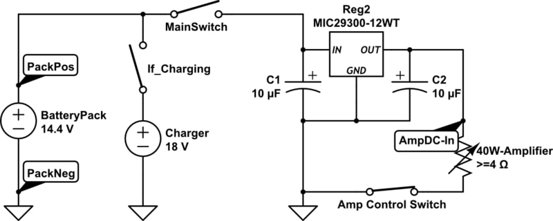 amp circuit caps single reg fix ac dc battery power conversion for ac speakers (part 1) logitech z506 wiring diagram at edmiracle.co
