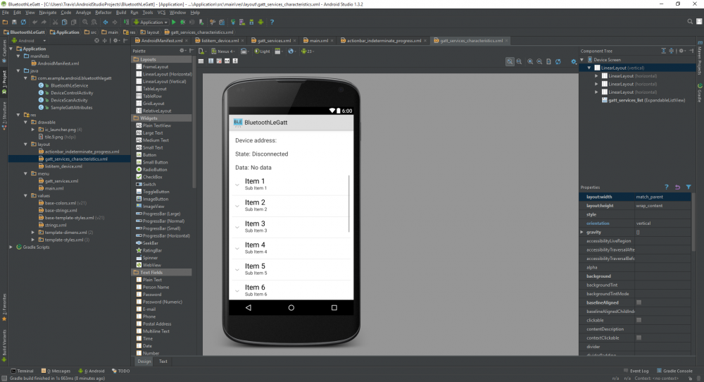 Create SMS Android App Using Android Studio