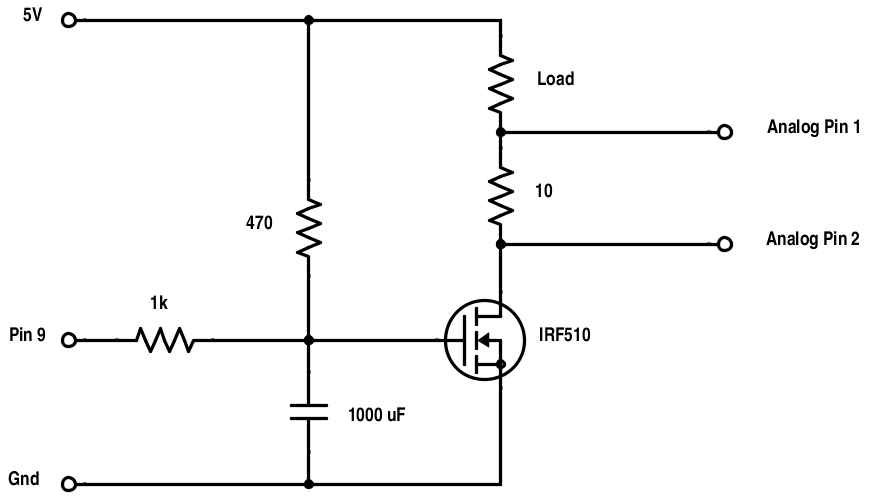 Build an arduino controlled usb power supply