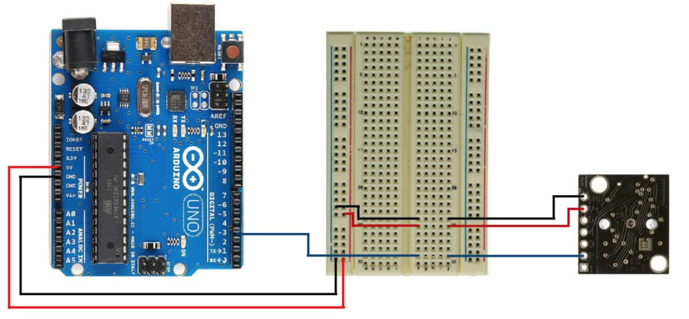 Measure Distance With A Sonar Sensor On An Arduino Wiring Diagrams