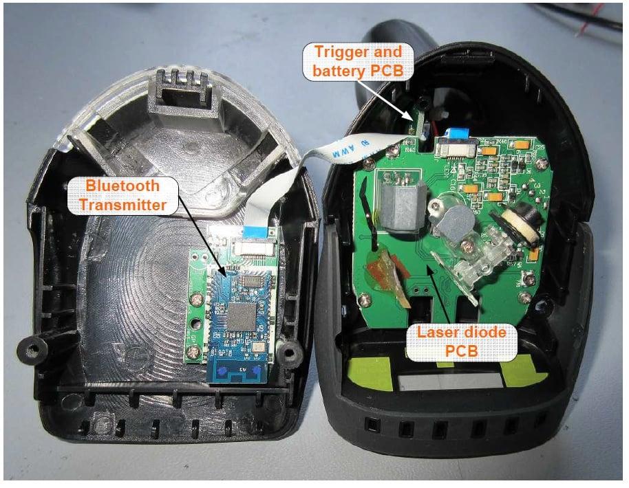 Teardown Tuesday Bluetooth Enabled Cordless Barcode