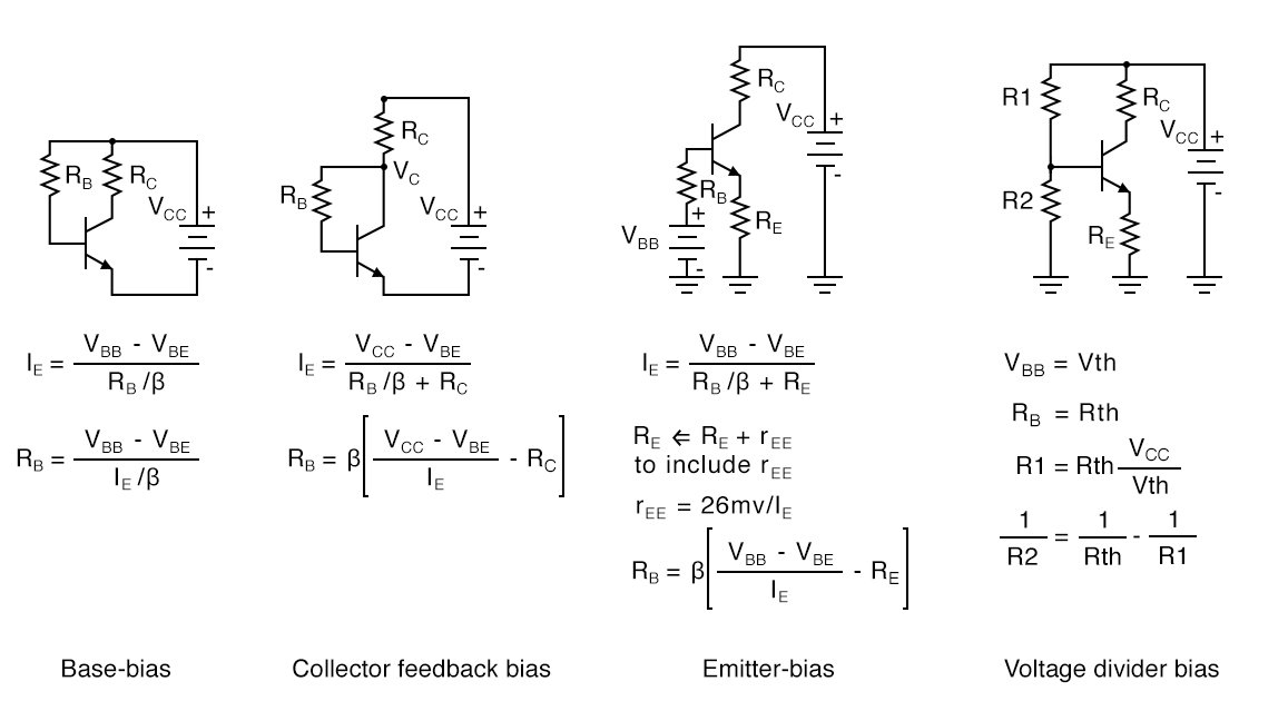 Transistor Biasing Calculations   Bipolar Junction