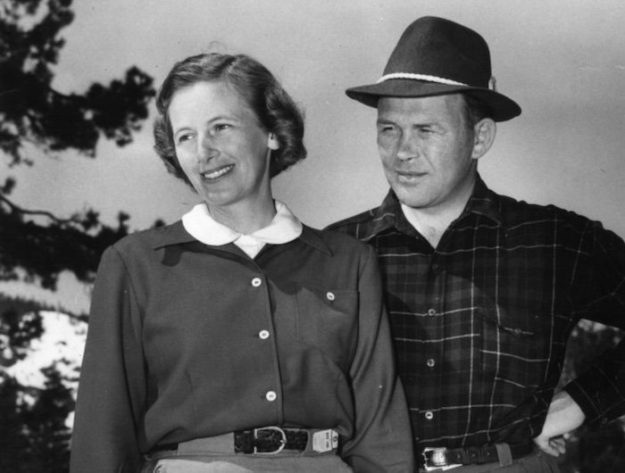 Bill and Flora Hewlett.