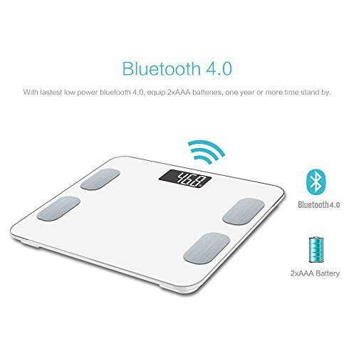 Bluetooth bathroom scale